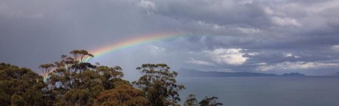 Rainbows bring colour