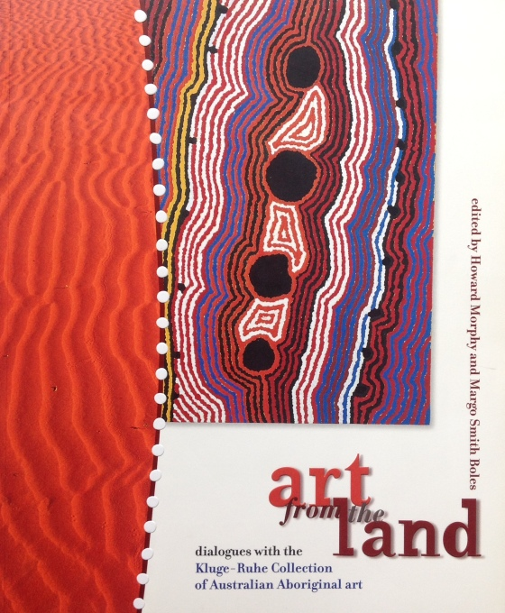 Christine Watson's chapter 'Touching the land' is found in the book 'art from the land', published in 1999 by The University of Virginia.