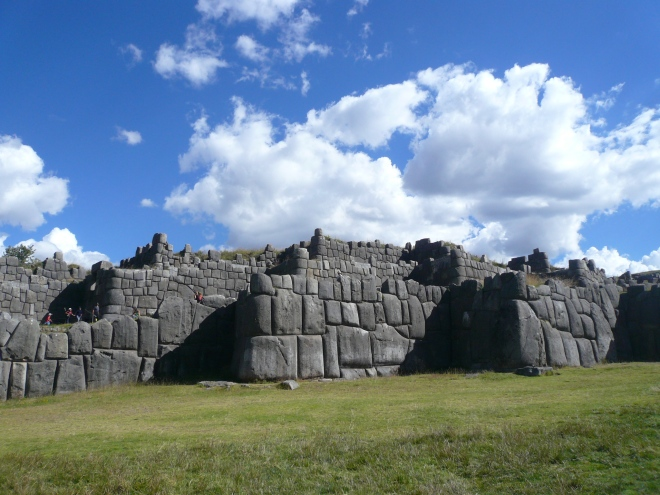 Sacsayhuaman, the site of the nine-day Festival of the Sun, an Incan ceremony held at the winter solstice (june)