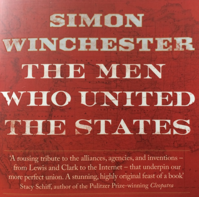 'The Men Who United The States (Winchester 2013) uses wood, earth, water, fire and metal as the framework to describe the founding of the 50 States of America.