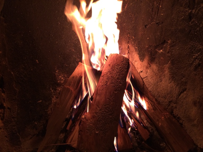There is something fundamentally human about sitting around a fire, a provider of warmth and a focus for conversation.