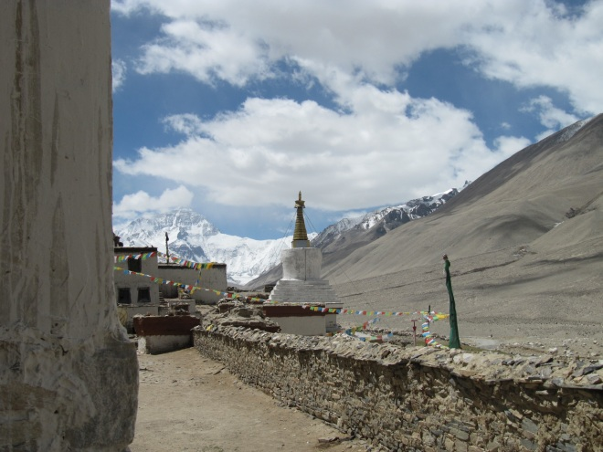 This Monastery, close to Mt Everest, gives a sense of the power and influence of the elements in the lives of Tibetans.