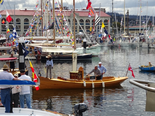 The two-yearly Australian Wooden Boat Festival demonstrates the continuing reverence for wood as a boat-building material.