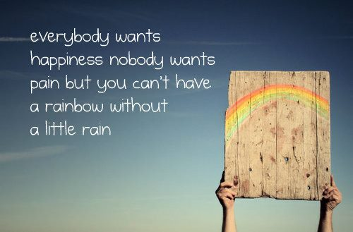 This was the  most common rainbow quote I found doing a Google search. Source: http://www.hsconline-blog.com