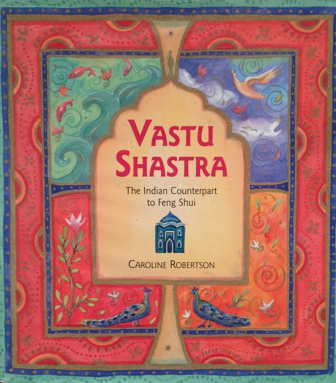 Vastu Shatsu is the Indian equivalent to Feng Shui, as this book points out. The 5000 year old science of building is designed to balance the relationship between humans, nature and buildings. It uses the elements, amongst other factors, to achieve this. Unlike Feng Shui it is not well known in the west.