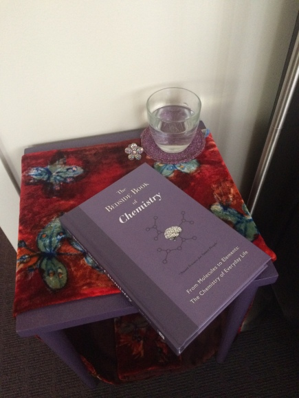 The authors may be optimistic thinking that people would keep this book by their bedside. The level of detail it captures makes it likely to appeal to a niche audience, such as the creator of this blog.