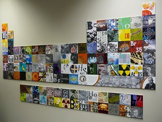 The interpretation of the chemical elements in the periodic table by 38 Tasmanian printmakers. Sponsorded by the Royal Australian Chemsity Insitute in the Internaitonl Year of Chemistry (2011). Source: