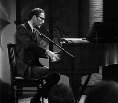 Tom Llehrere, possibly performing 'The Elements' song in 1959. Source: krohsnest.com.