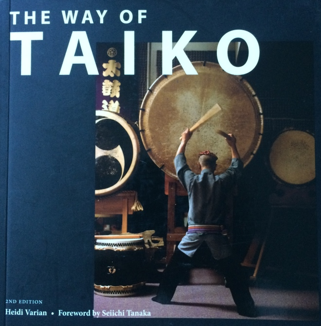 The connection between taiko and the elements is drawn and adapted by this book, published in 2013.