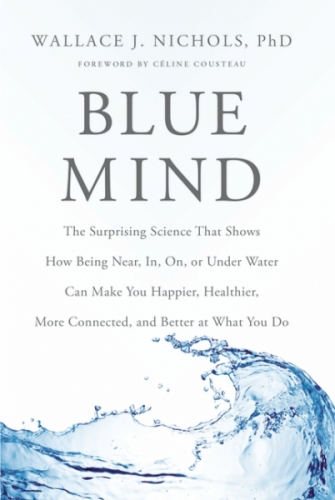 The book 'Blue Mind', published in 2014,  has become a best seller. Source: blue mind.me