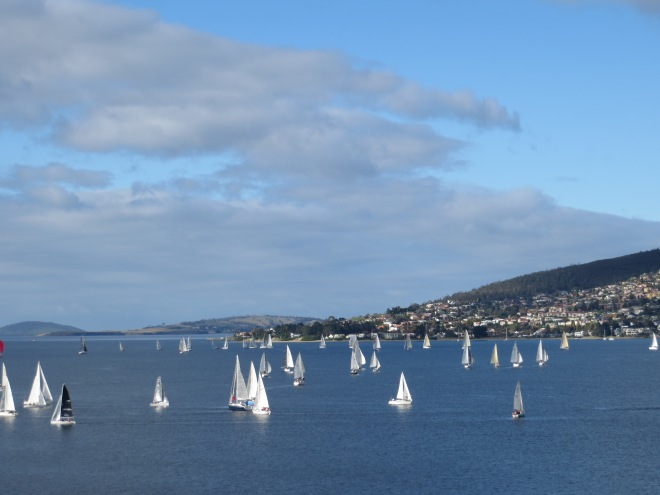 is a popular pastime in Tasmania with the Sydney to Hobart annual Boxing day yacht race of worldwide fame.