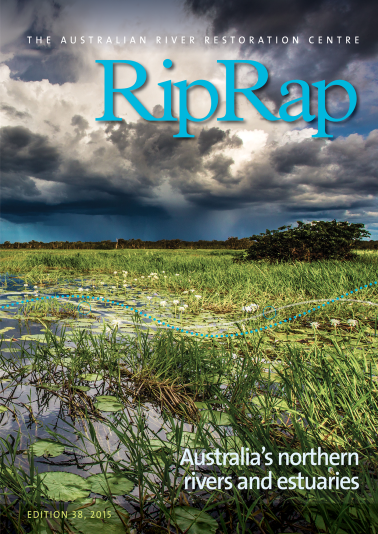 Rip Rap is one of the many ways the ARRC shares knowledge about rivers. The latest volume features the rivers of Northern Australia.