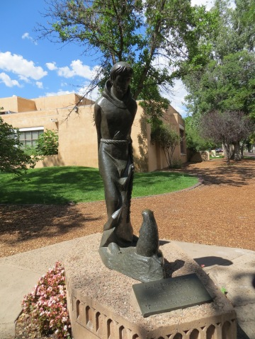 "St Francis of Assissi called all creatures his ""brothers"" and ""sisters,"" and preached to the birds. (Photo: Santa fe, New Mexico, August 2013)."