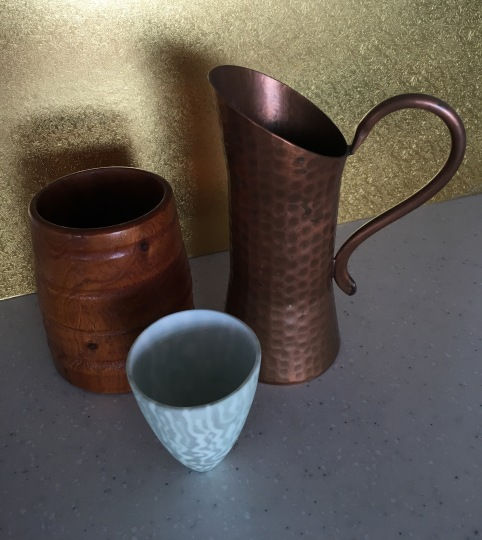 Copper has been used in its native and alloy form to create objects for human use for at least 8000 years. This copper jug was crafted by Weeda in Ulverstone, Tasmania.