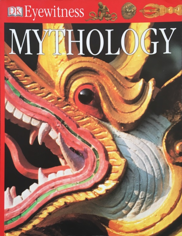 Another book I was pleased to find was this one on mythology which has a two page spread titled 'The elements.' Way to go! It makes the point, as readers of this blog are well aware, the all over the world the elemental forces that form it have been the focus of myth-making. It's describes the Western tradition as four elements (see my blog on the fifth element as a contrast) and the Chinese tradition as five elements. Somehow the five element traditions of Buddhist and Hindu mythology get overlooked. As shown below, the other examples describes myths associated with individual elements across different cultures. While the coverage is not comprehensive, it is a good start. The main point is what is important.