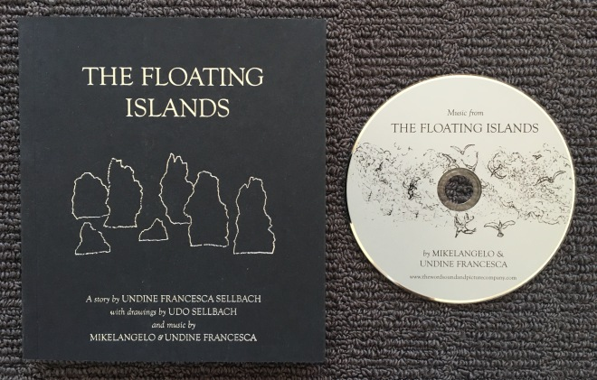 One final addition to this catch up on the elements is this book and CD I came across yesterday, both called The Floating Islands. I really like the idea of incorporating music to add an extra dimension to the story being told.