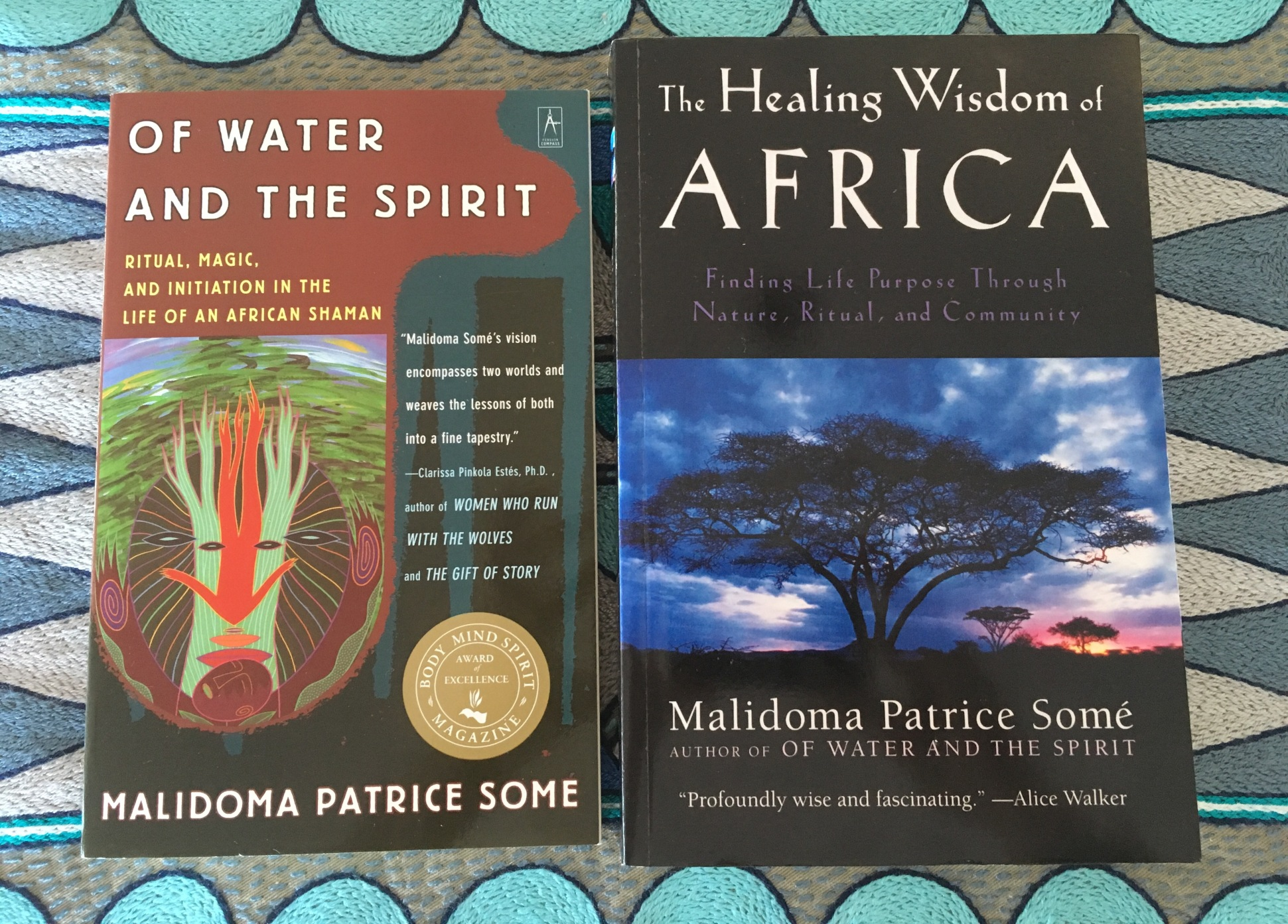 My first introduction to the teaching of the Dagara people was through two books written by Malidoma Patrice Some - 'Of Water and the Spirit' and 'The Healing Wisdom of Africa'. Some, a Dagara shaman, shares his vision for connecting with nature through rituals based on the five Dagara elements.