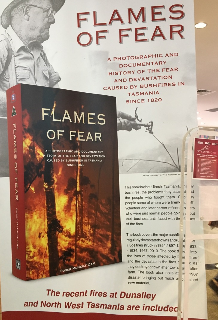 The book 'Flames of Fear' has been released to coincide with the 50th anniversary of the 1967 Tasmanian bushfires.